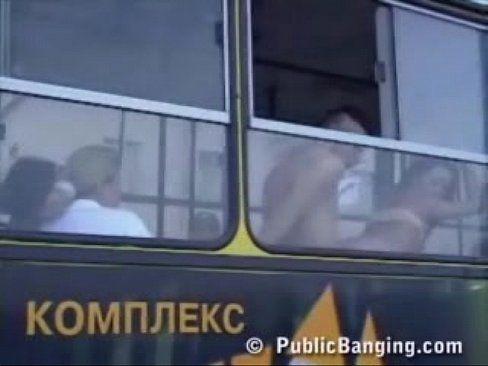 Sexo Entre Estudantes No ônibus Do Acampamento