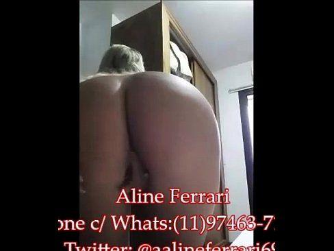 Amante Safada Fazendo Striptease De Lingerie Vermelha