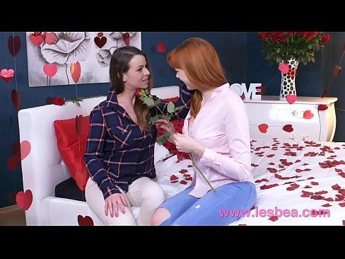 Lesbea German Teen Redhead Valentine 69 And Scissors With Older Woman