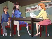 Foda gostosa de adolescentes em desenhos hentai