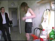 Maridão chega em casa de pau duro e fode gostoso esposa de sainha