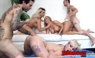 Sexlog com livecam com as putonas fazendo orgia